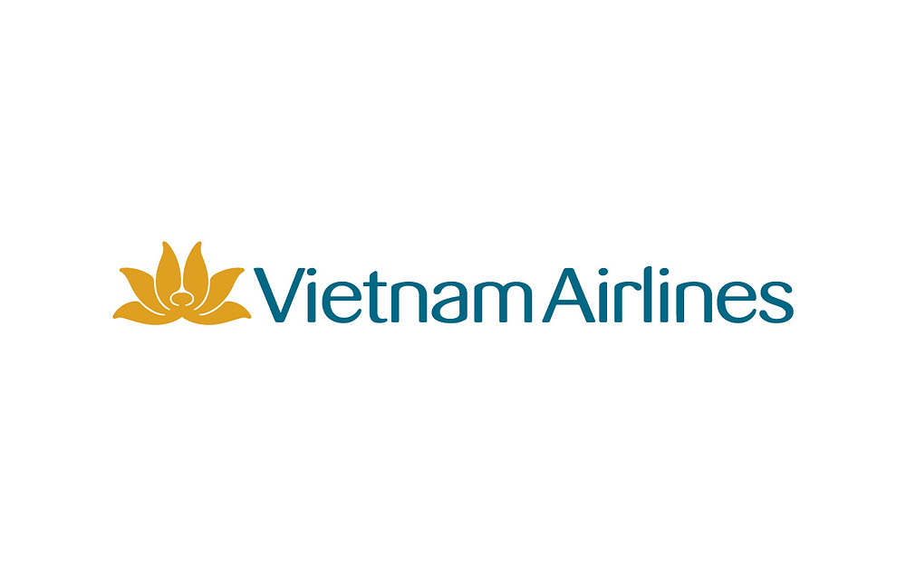 Logo Vietnam Airlines - Bố cục ngang