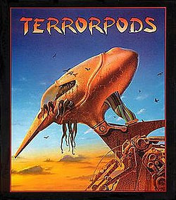 Terrorpods box art by Roger Dean