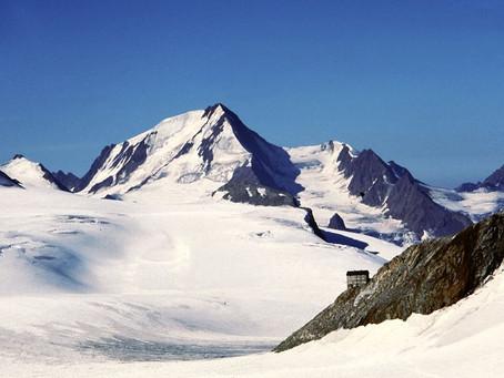 Fietsen naar en voor (behoud van) de gletsjer