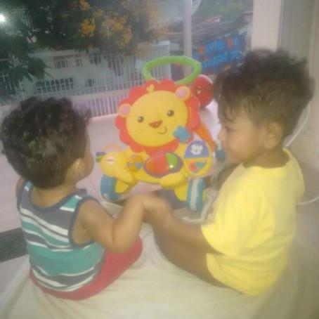 Em 03/04/2018 a Boaçãonaria recebe a notícia que o menino Miguel saiu pela primeira vez do hospital.