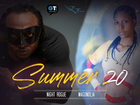 Night Rogue And Magonolia in Summer Poster