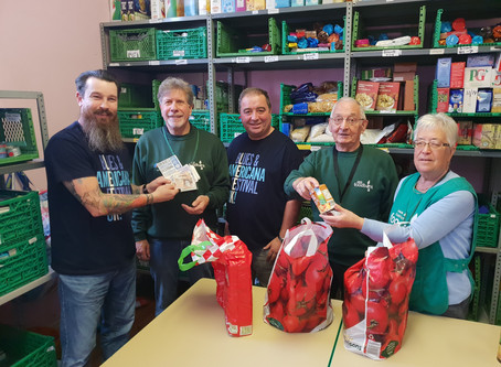 Leek & District Foodbank Donation