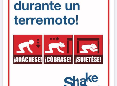 """Nos preparamos para el """"Shakeout"""" del 15 de octubre - Virtual"""