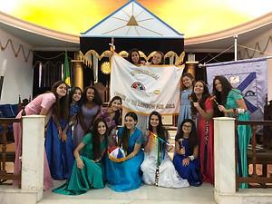 Dia 6 de abril, aniversário de 97 anos da Ordem Internacional do Arco-íris para Meninas 🥰🌈⚜.