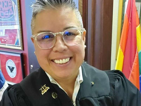 Lesbian Judge is Forced to Remove Pride Flag from Her Courtroom