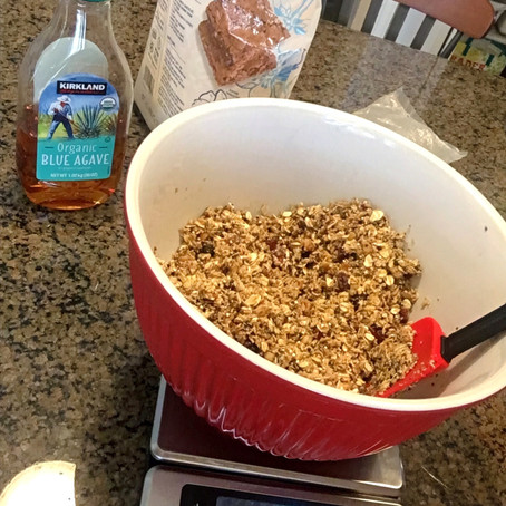 Crunchy Nutty Seedy Granola