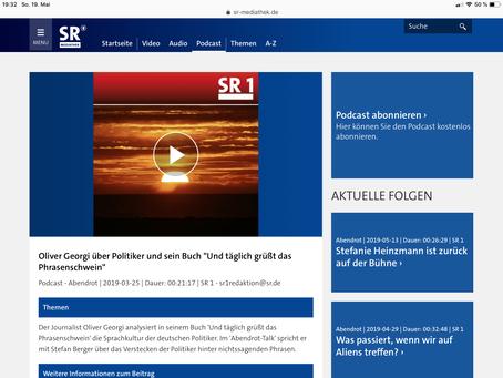 Interview mit dem Saarländischen Rundfunk