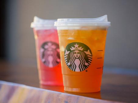 Starbucks elimina el uso de popotes