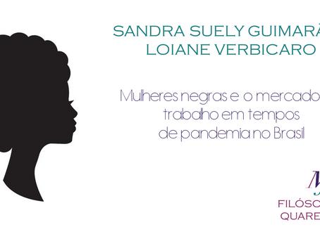 Mulheres negras e o mercado de trabalho em tempos da pandemia no Brasil