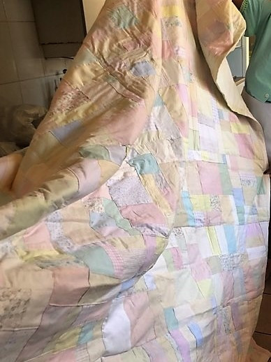 Crumb quilt in Africa