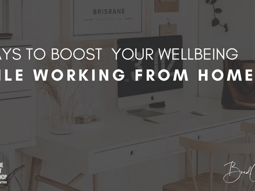 5 Ways to Boost Your Wellbeing While Working From Home