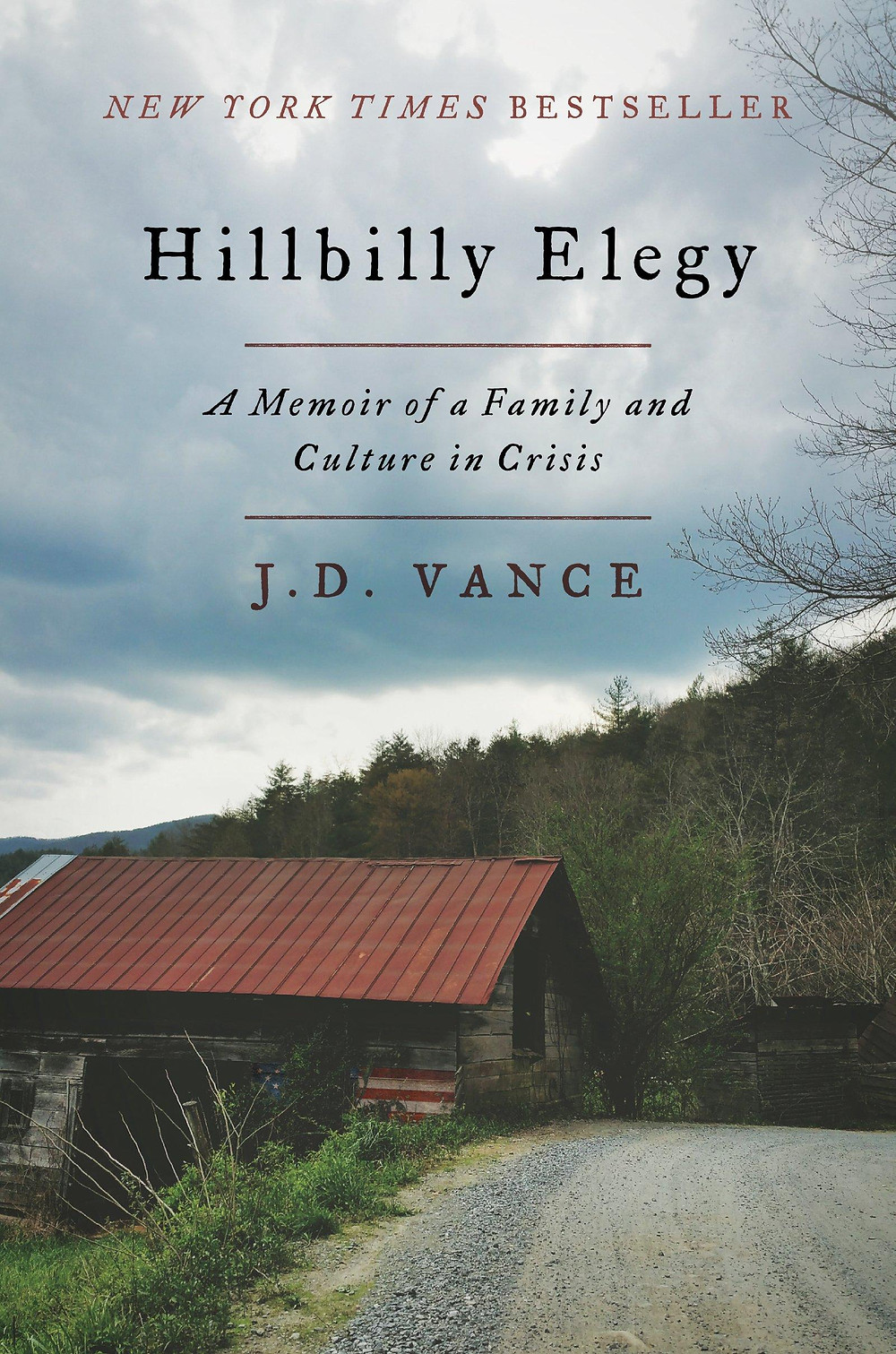 HILLBILLY ELEGY: A MEMOIR OF A FAMILY AND CULTURE IN CRISIS by J.D. Vance : the book slut book reviews