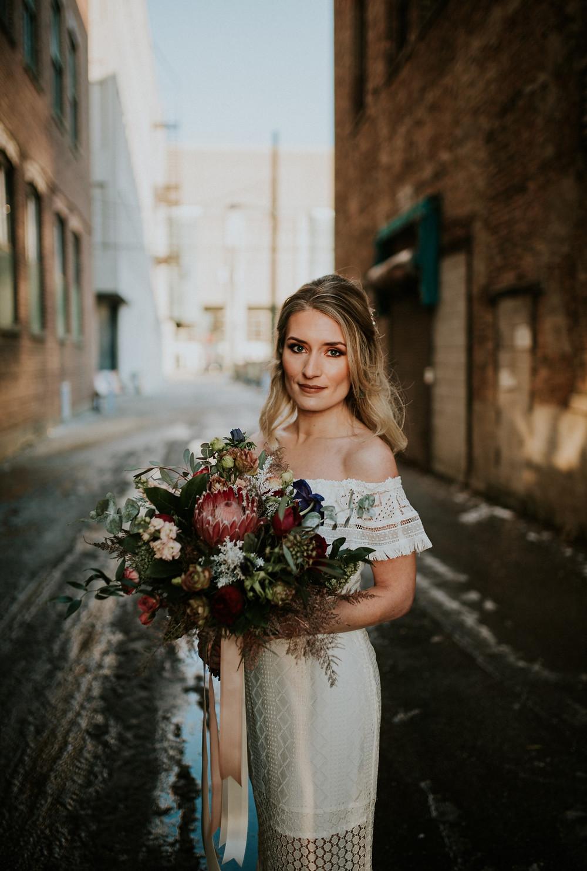 Chicago Bride on wedding day