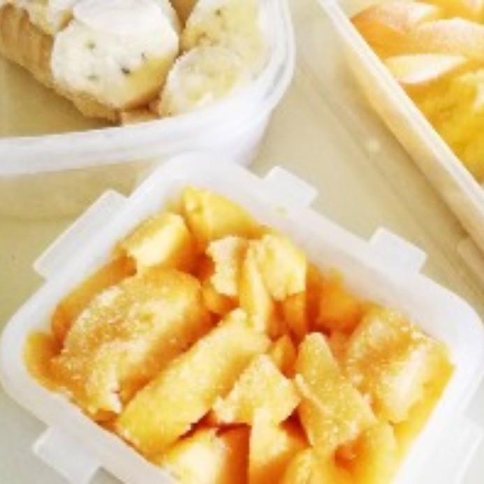 Mangues congelées_ sorbet maison