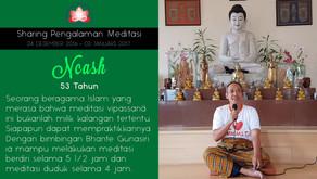 Meditasi tak mengenal Agama - Sharing oleh NCASH