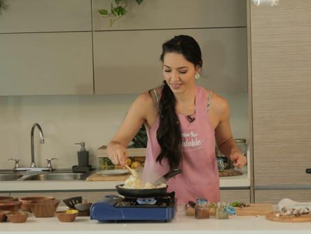 Comunicado 92: Telecaribista cocina saludable con ingredientes de la región