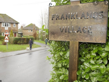 1934 Franklands Village opens: 'As pretty a picture as you could wish to see'