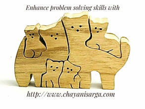 Enhance problem solving with Wooden jigsaw puzzles