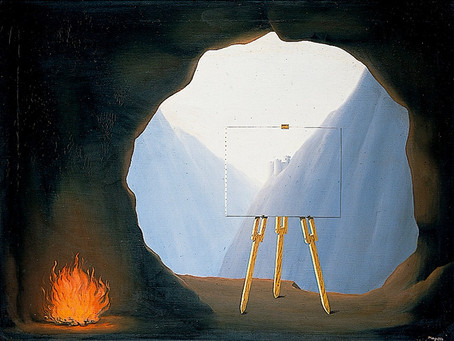 What Magritte can tell us about IR