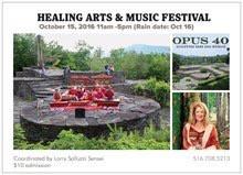 Opus 40: Psychic Healing Festival featured the Catskills Mt Gamelan, June 2, 2018, 11-5 PM(rain 6/3)