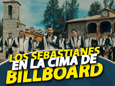 Banda Los Sebastianes en la cima de BILLBOARD