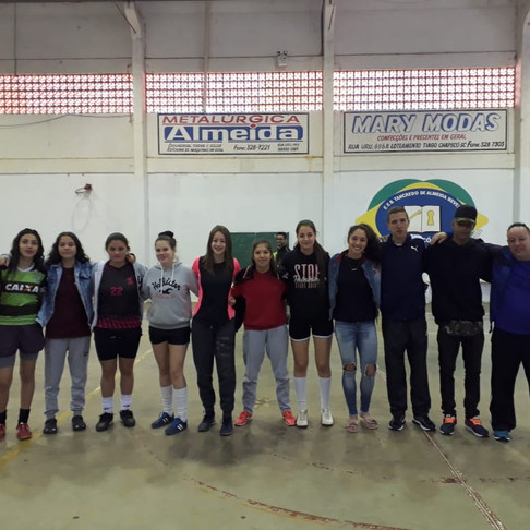 Jogos internos de Futsal