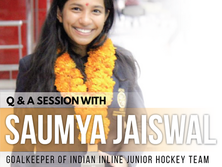 Q&A Session with Saumya Jaiswal