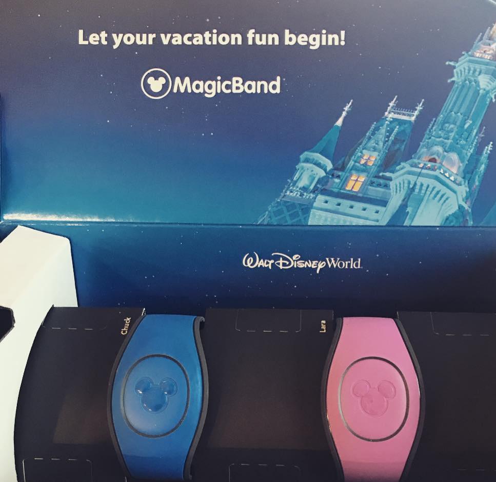 virtual bracelets for EVERYTHING at Disney