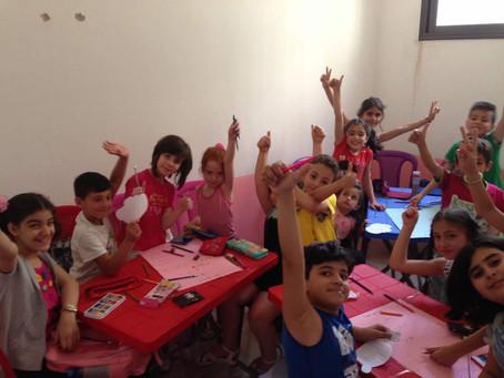 Das erste Projekt in Syrien