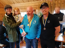 Gold, silver and bronze winner at Färsna Cup