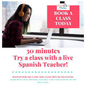 Free trial class Spanish