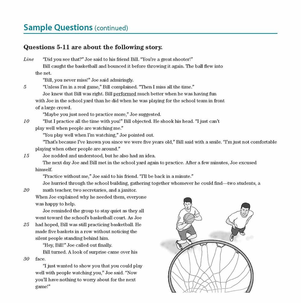 TOEFL Junior - Reading