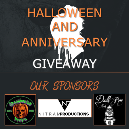 Celebrating Halloween and our One Year! BIGGEST GIVEAWAY YET!