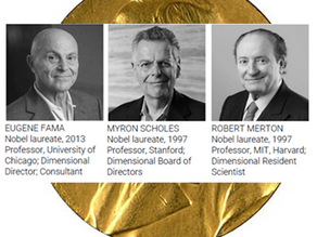 Nobel laureates on dimensional