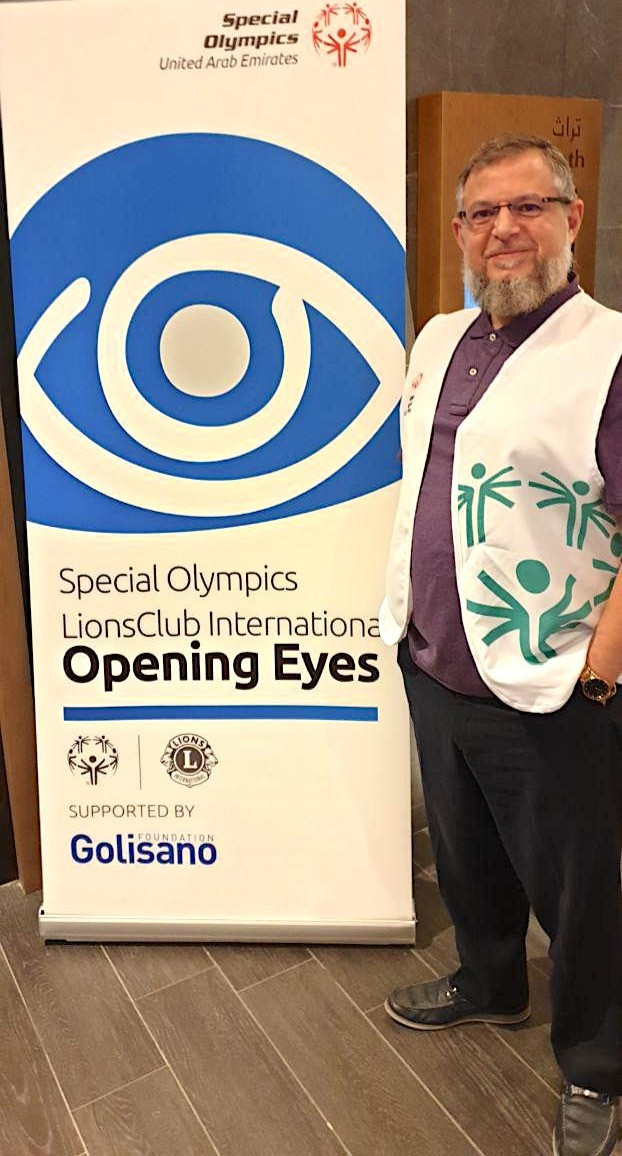 Dr Mazen Sinjab an elected member in the medical board of the Special Olympics Program. Over 3 days, Dr. Mazen Sinjab participated in the activities of the Opening Eyes Program, a part of The Special Olympics Program. Tens of athletes with special intelligence were examined during this outstanding activity.
