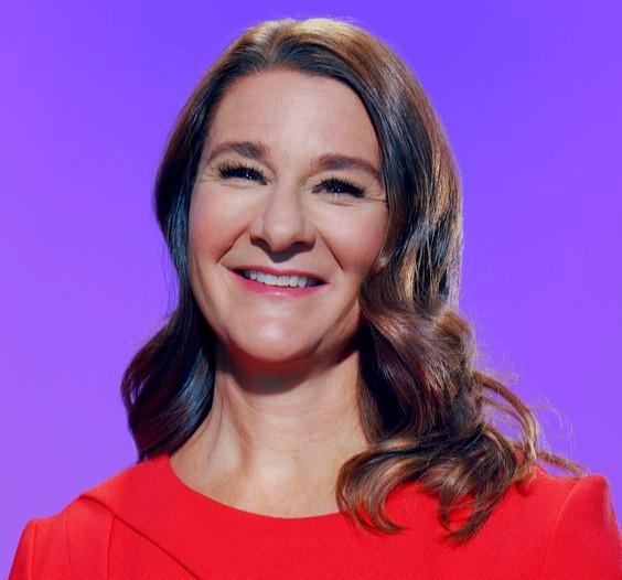 Talk about us. Melinda Gates. Volunteer Mind