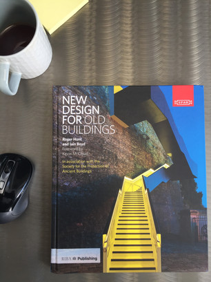 New book in the office... New Design for Old Buildings