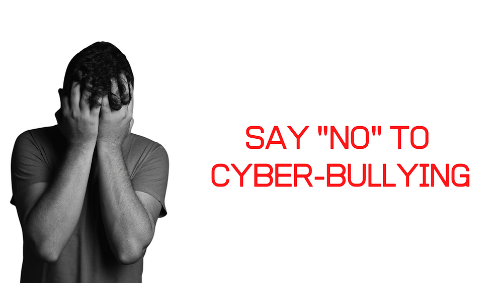 """Say """"NO"""" to Cyber-bullying"""