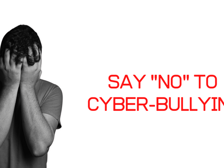 "Social media & Cyber-bullying, Bullying/Harassing isn't ""cool""!"