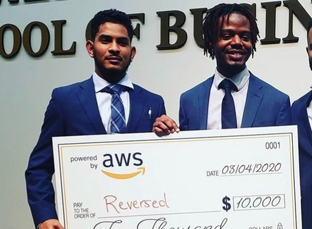 Two Supply Chain Students Win Amazon Pitch Competition