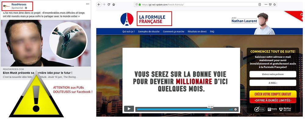 La Formule Française Trading Fraude