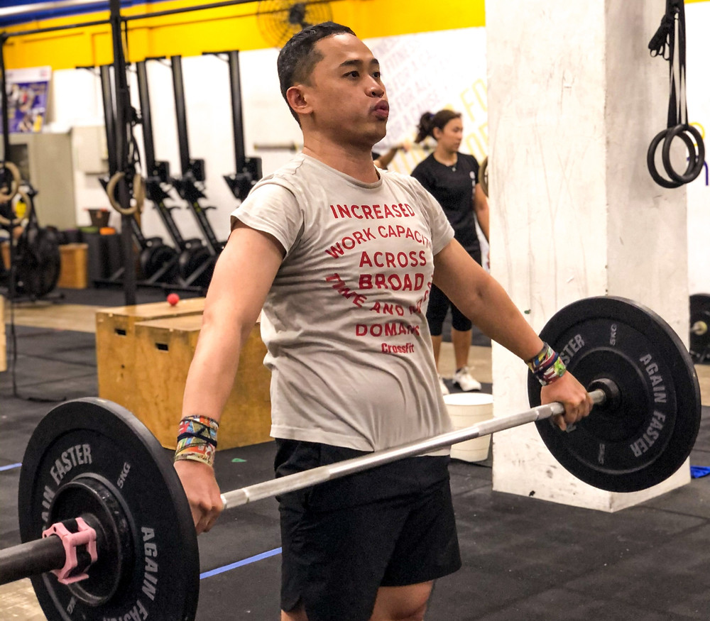 CrossFit Singapore Snatch Fitness
