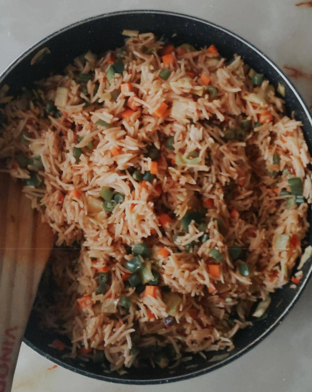 Congratulations! You made your rice, if it looks like this :)