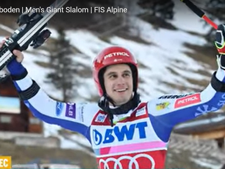 Zan Kranjec Wins World Cup GS in Adelboden