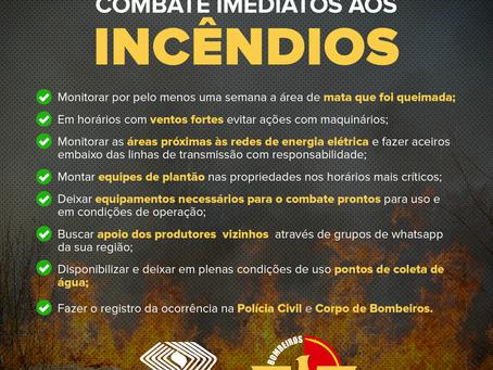 PRODUTORES RURAIS SE UNEM PARA TRAÇAR ESTRATÉGIAS EMERGENCIAIS CONTRA AS QUEIMADAS