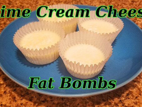 Coconut Lime Cheesecake Fat Bomb