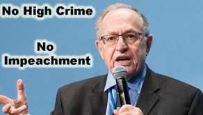 No High Crime - No Impeachment !!