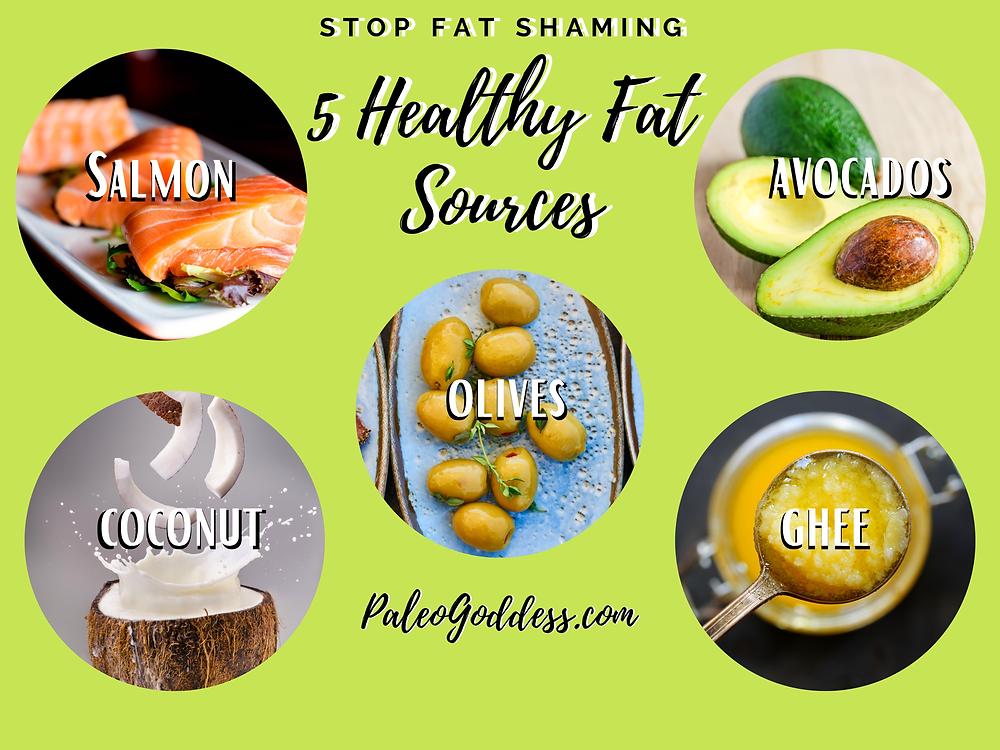 5 Healthy Fat Sources