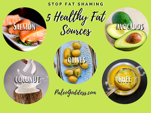 5 Healthy Fat Sources