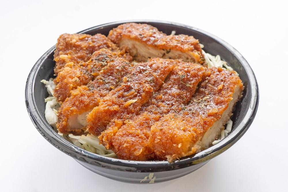 皆川食肉店テイクアウトソースカツ丼
